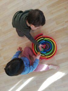 Creando un circuito muy sencillo de bolas
