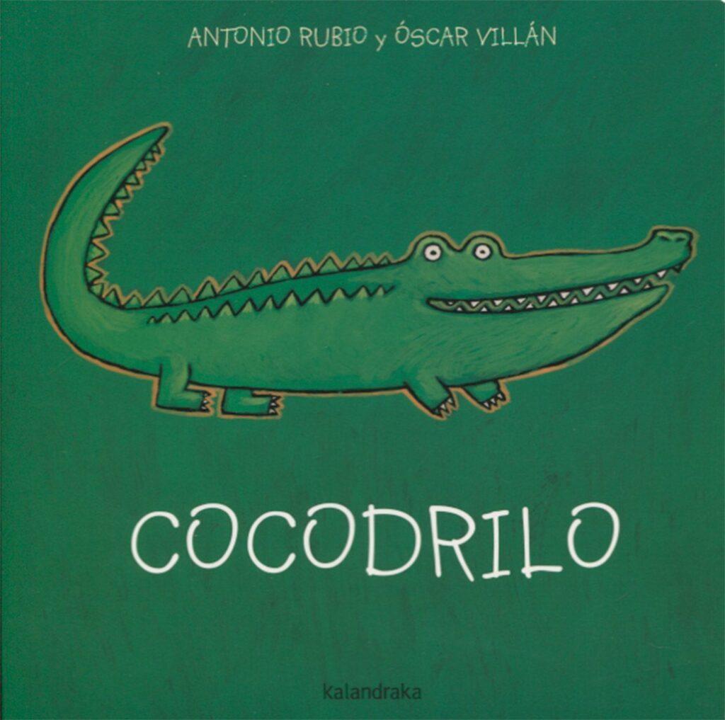Libro Cocodrilo, de la Cuna a la luna