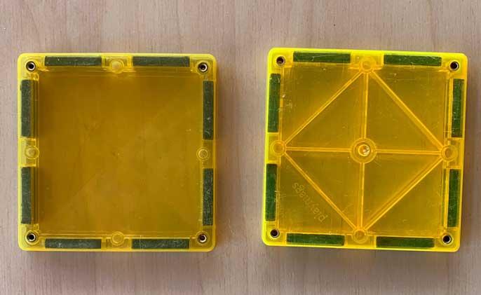 Playmags y Connetix Piezas compatibles