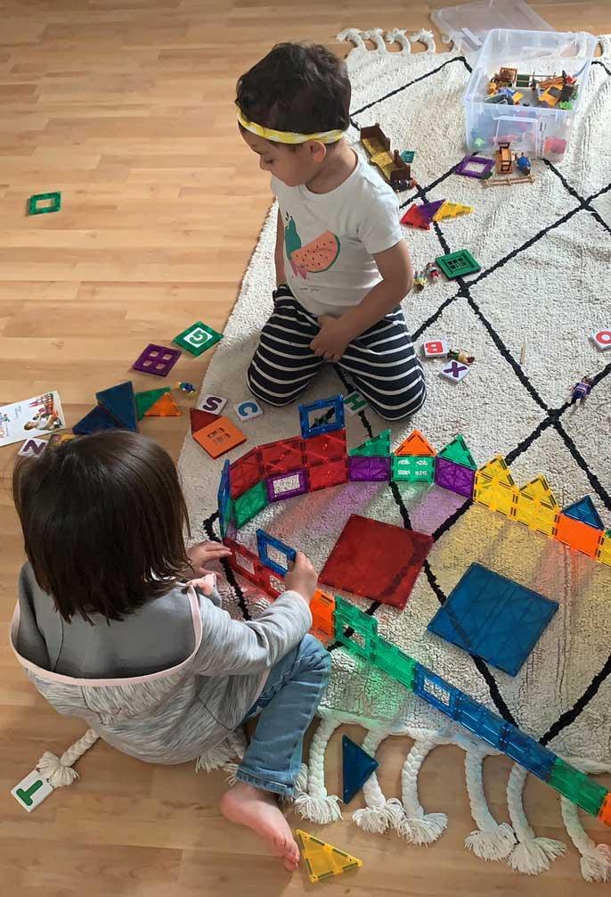 playmags magna tiles el mejor juguete de construcción